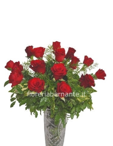 Bouquet di rose rosse